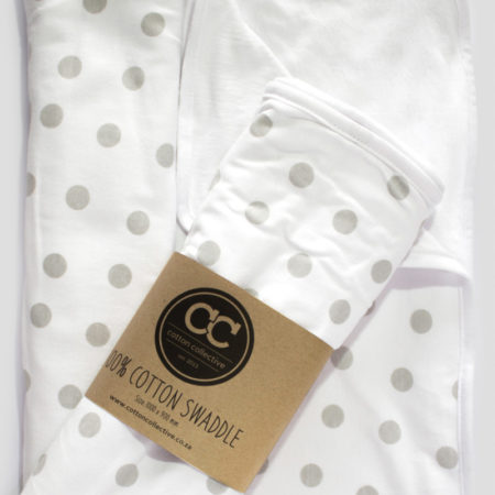 Swaddle-Blanket-Polka-Dot-Grey-Cotton-Collective-03