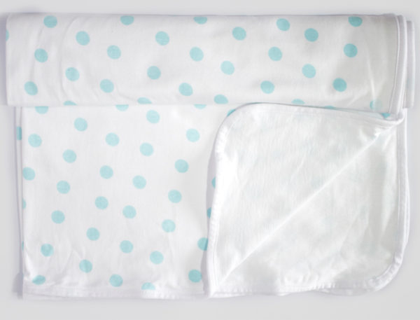 Swaddle-Blanket-Polka-Dot-Blue-Cotton-Collective