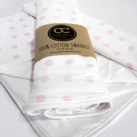 Swaddle-Blanket-Polka-Dot-Pink-Cotton-Collective-03