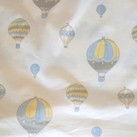 hot air balloon fitted sheet