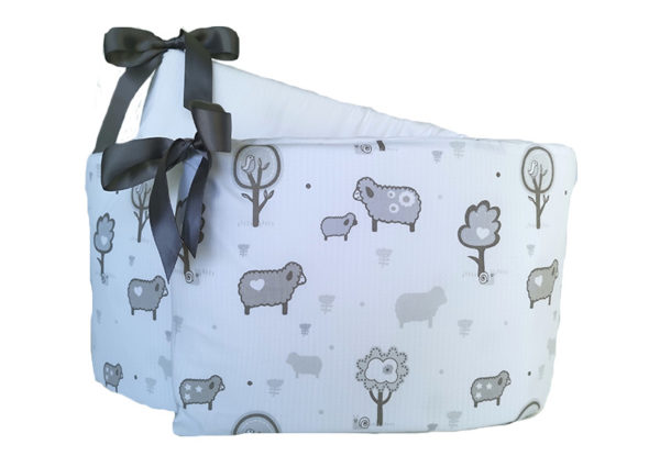 Cot Bumper Cover – Little Sheep Design
