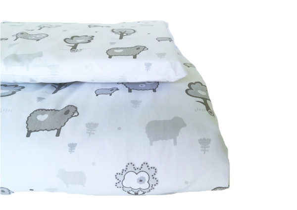 Cot Duvet Cover 6 Piece Set